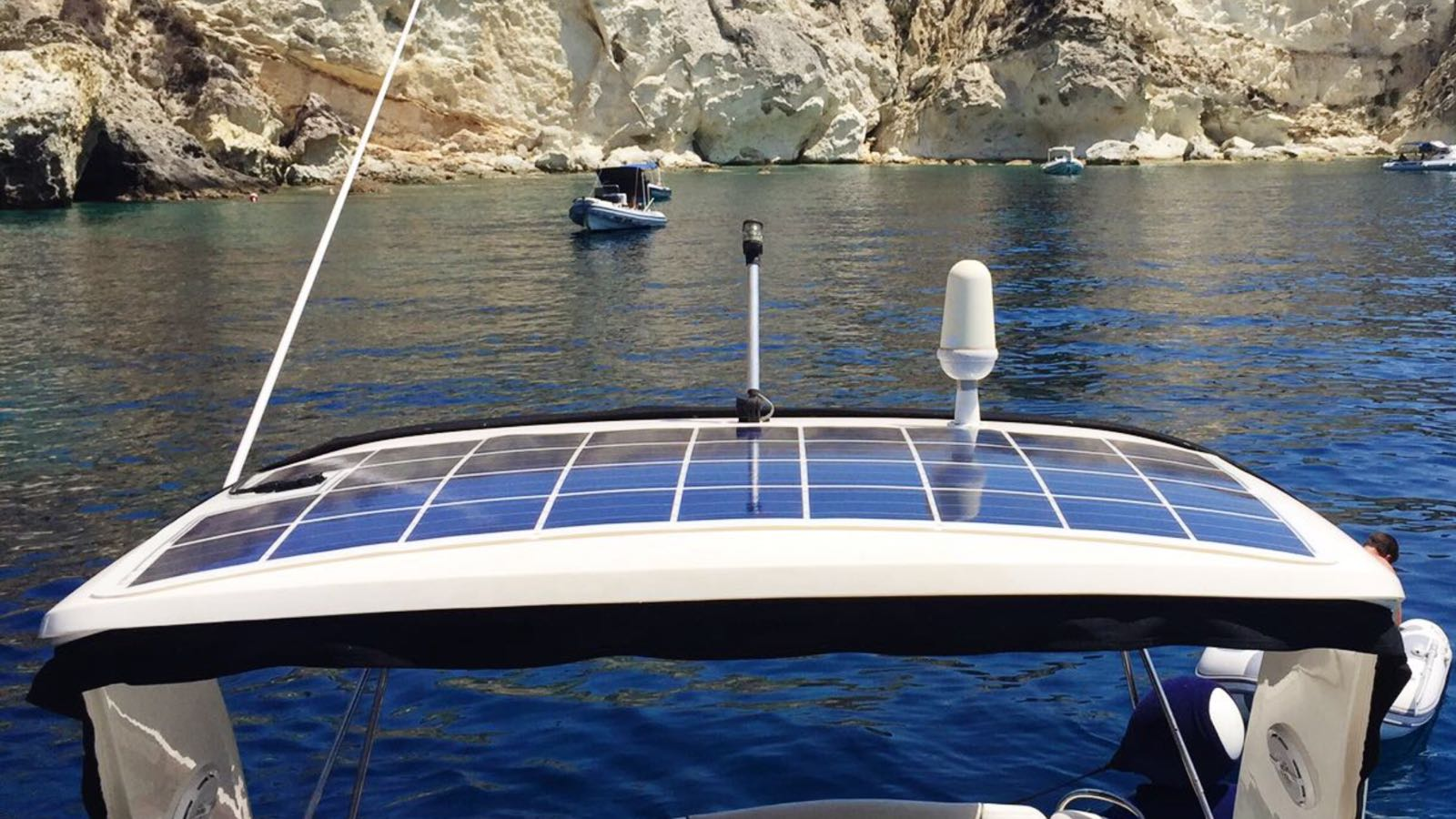Solar Panels For Boats >> Solar Semiflexible Panel For Boat Fly Solartech