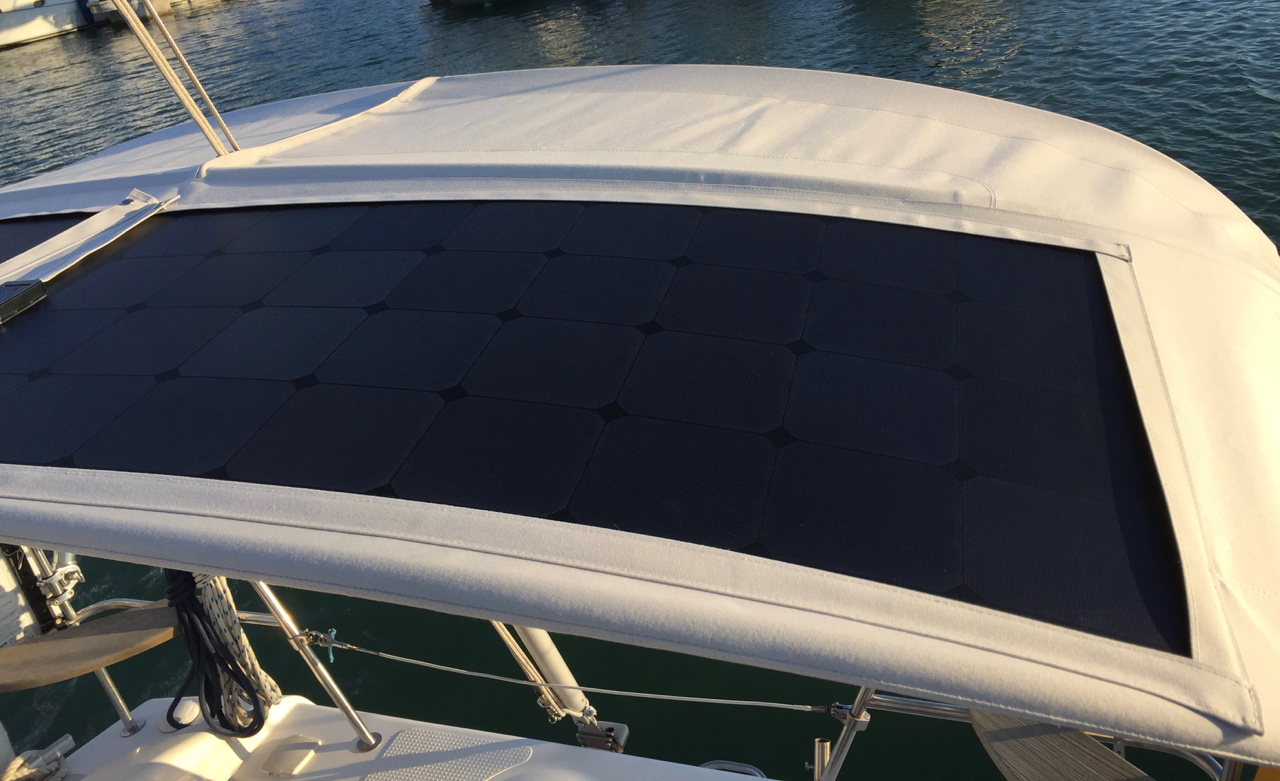 How To Install Solar Panel On Bimini Fly Solartech