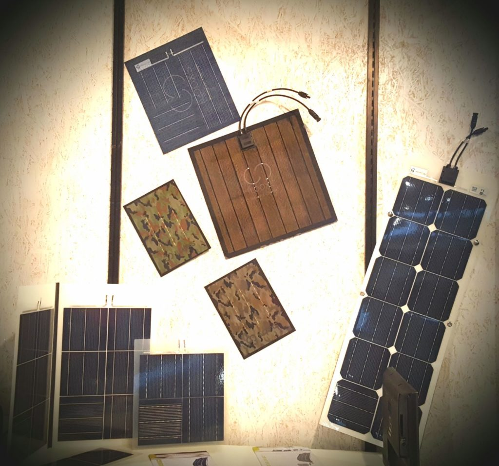 Colored solar front sheet - Solar Panels for Home